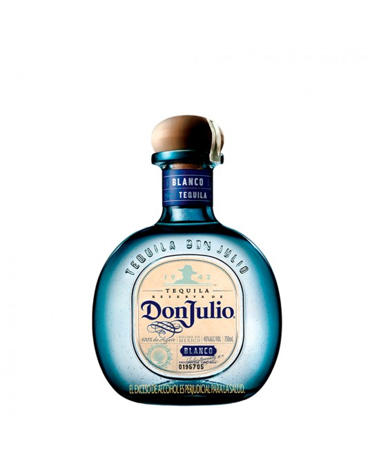 TEQUILA DON JULIO BLANCO BOTELLA 750 ml