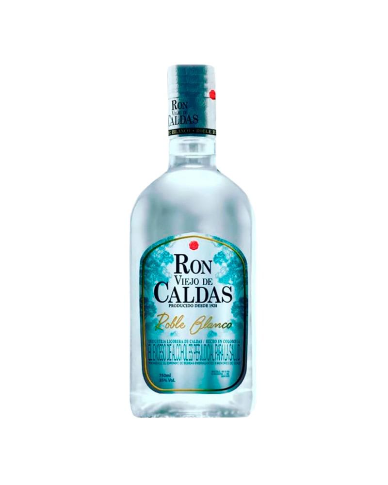 RON VIEJO DE CALDAS ROBLE BLANCO BOTELLA 750 ml
