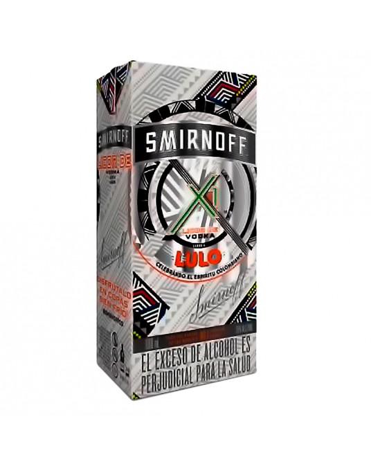 VODKA SMIRNOFF X1 SABOR A LULO 1000 ml