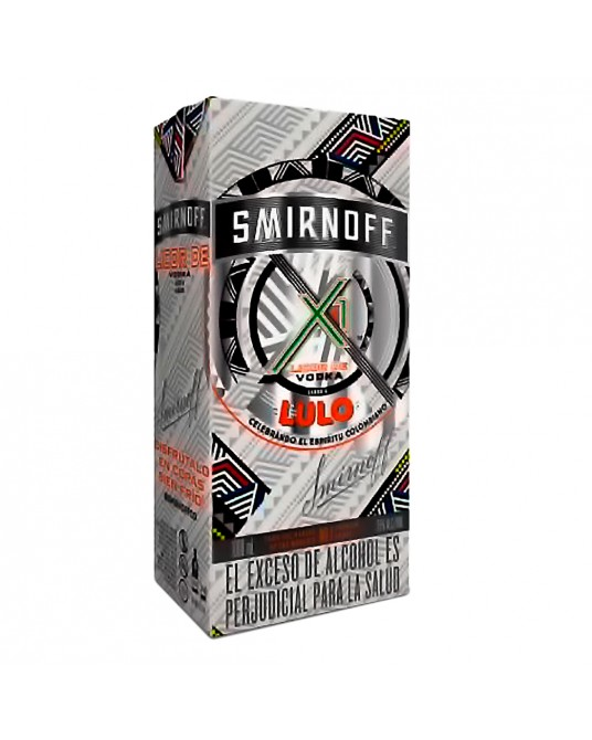 VODKA SMIRNOFF X1 SABOR A LULO 1000 ml