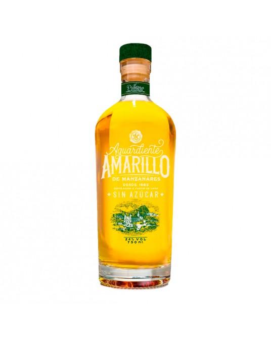 AGUARDIENTE AMARILLO DE MANZANARES EL PIONERO BOTELLA 750 ml