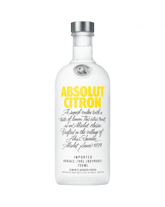 ABSOLUT CITRON BOTELLA 700 ml