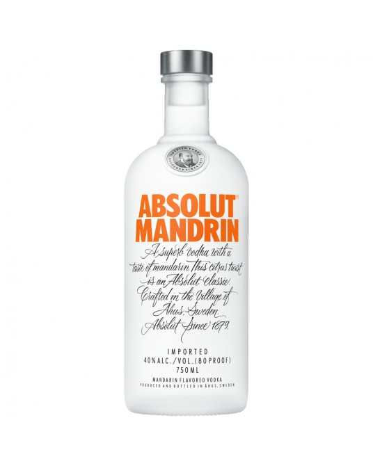 ABSOLUT MANDRIN BOTELLA 700 ml