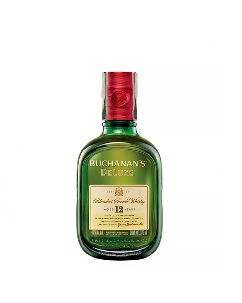 BUCHANAN'S D´LUXE 12 AÑOS MEDIA 375 ml