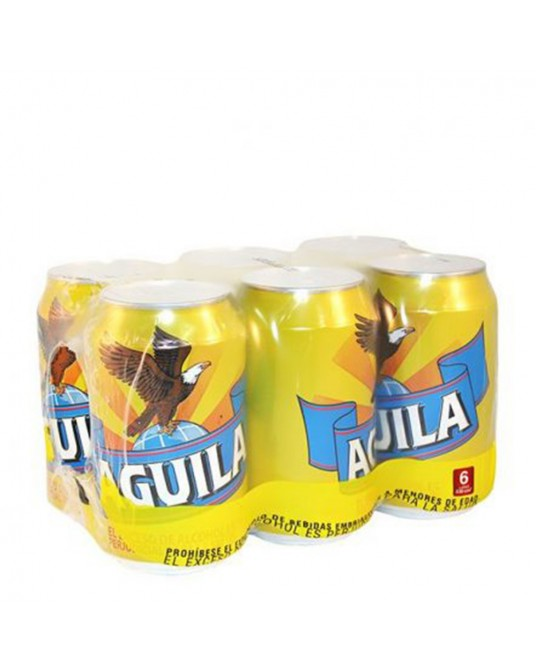 AGUILA TRADICIONAL SIX PACK 6x330ml