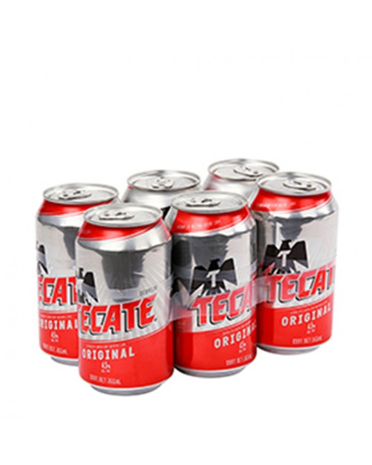 TECATE SIX PACK 6x330ml