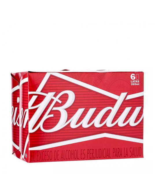 BUDWEISER SIX PACK 6x295ml