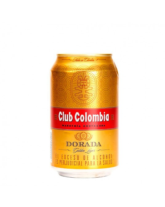 CLUB COLOMBIA DORADA LATA 330 ml