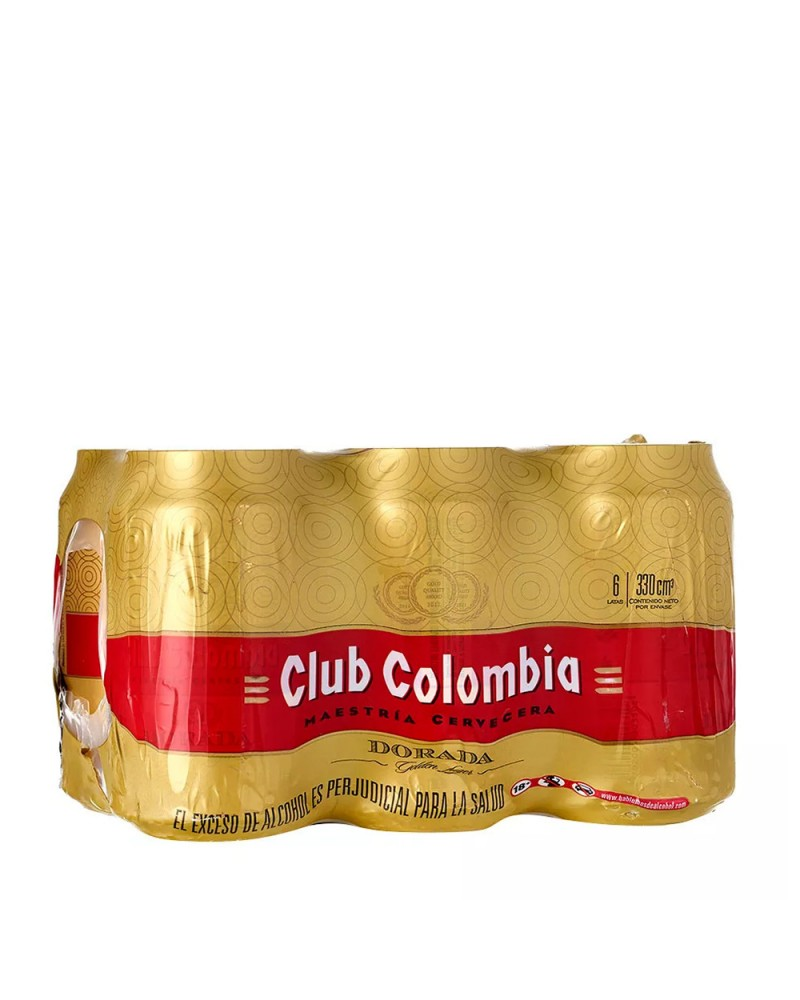 CLUB COLOMBIA DORADA SIX PACK 6x330ml