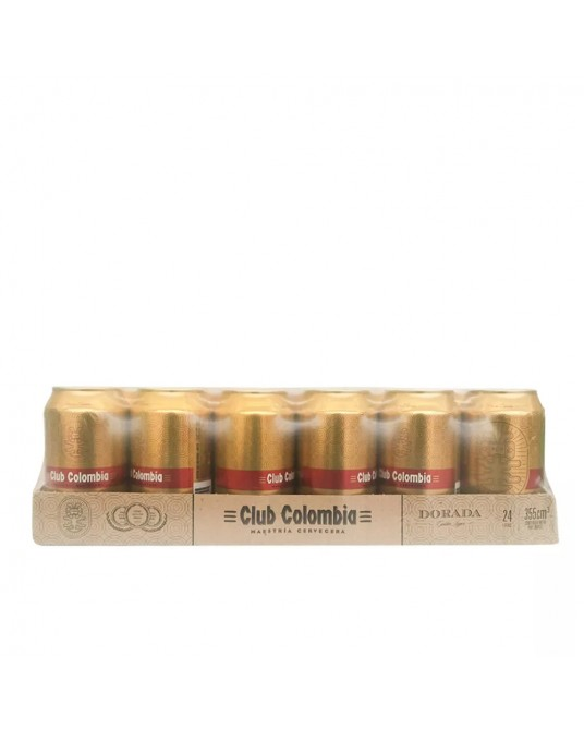CLUB COLOMBIA DORADA BANDEJA 24x330ml