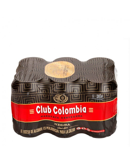 CLUB COLOMBIA NEGRA SIX PACK 6x330ml