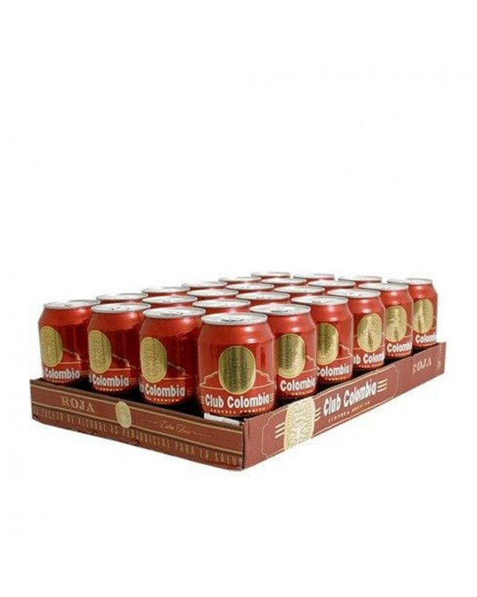 CLUB COLOMBIA ROJA BANDEJA 24x330ml