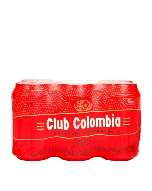CLUB COLOMBIA ROJA SIX PACK 6x330ml