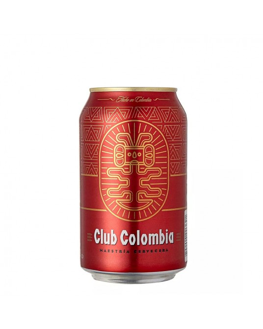 CLUB COLOMBIA ROJA LATA 330 ml
