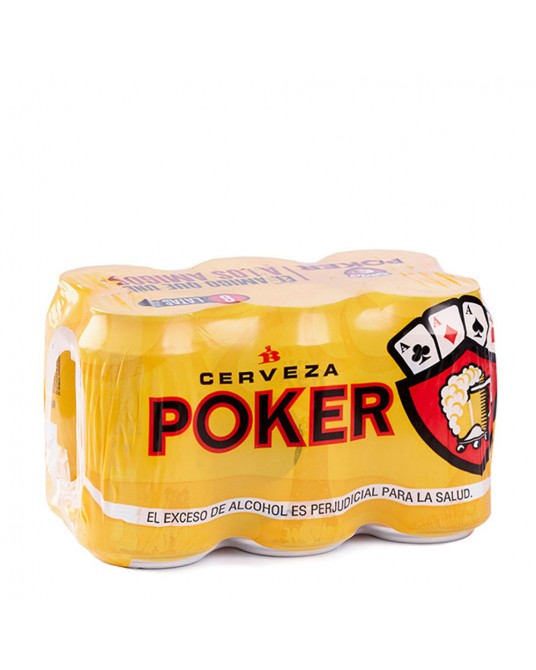 POKER SIX PACK 6x330ml