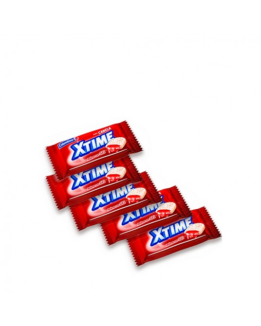 CHICLES XTIME x 5 UNIDADES