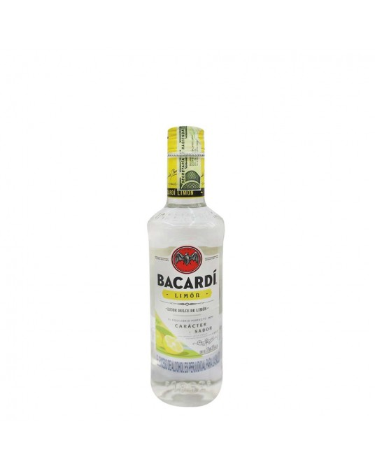 RON BACARDI LIMON MEDIA 375 ml