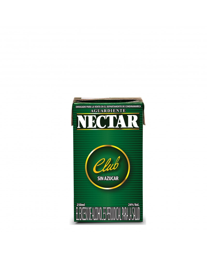 NECTAR CLUB VERDE CUARTO TPACK 250 ml