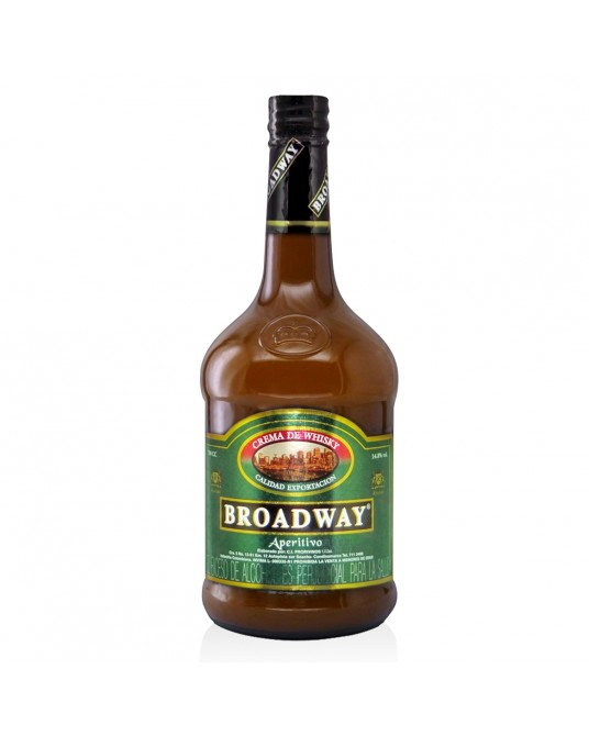 CREMA DE WHISKY BRODWAY BOTELLA 700 ml