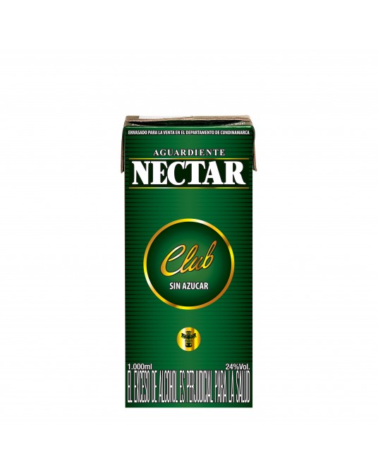 NECTAR CLUB VERDE LITRO TPACK 1000 ml