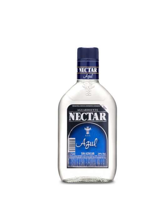 NECTAR AZUL SIN AZUCAR MEDIA 375 ml