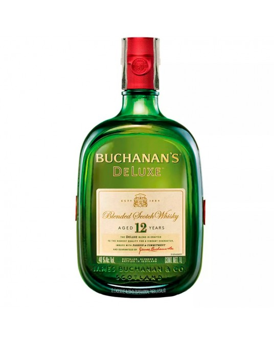 BUCHANAN'S D´LUXE 12 AÑOS BOTELLA 1000 ml