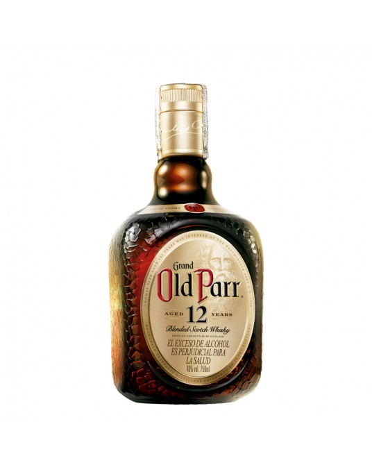 OLD PARR 12 AÑOS BOTELLA 750 ml