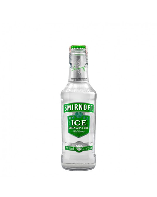 CÓCTEL SMIRNOFF ICE GREEN APPLE BOTELLA 275 ml