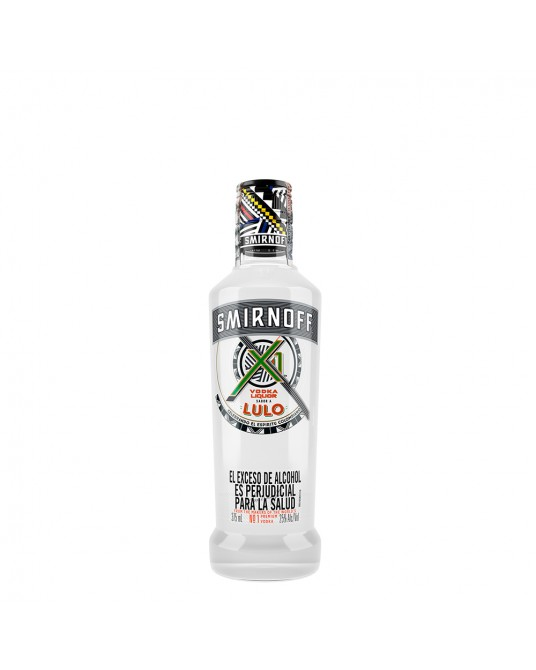 VODKA SMIRNOFF X1 SABOR A LULO 375 ml