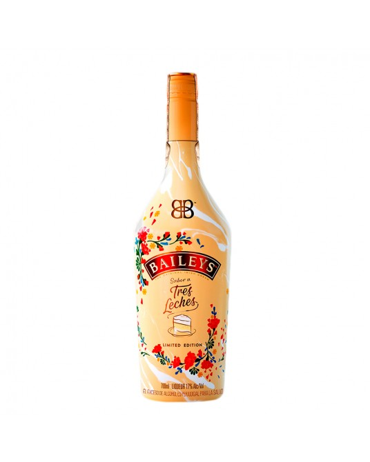 CREMA DE WHISKY BAILEYS TRES LECHES BOTELLA 700 ml