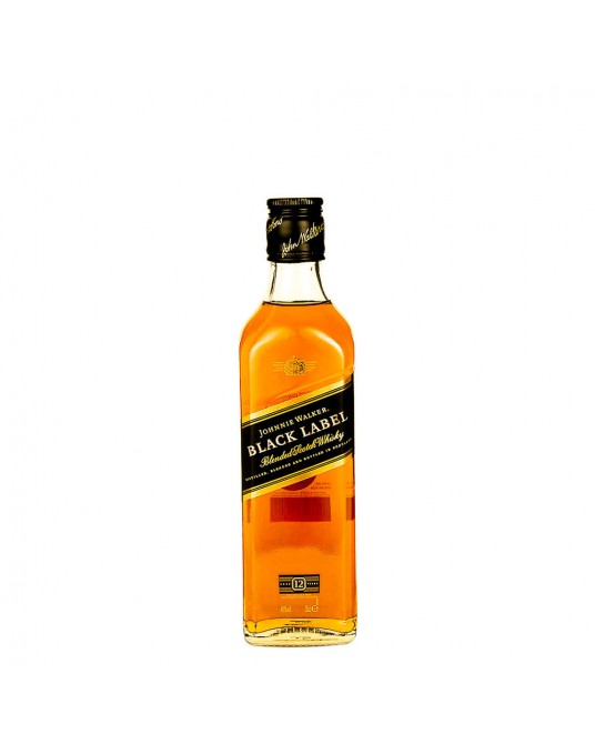 JOHNNIE WALKER BLACK LABEL MEDIA 375 ml