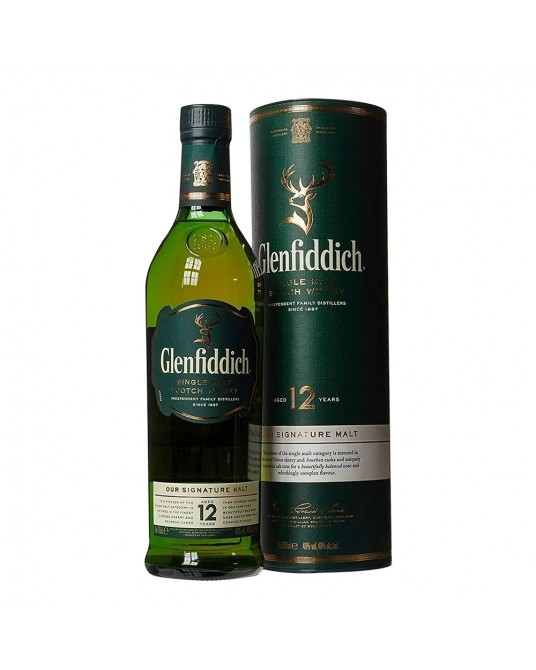 GLENFIDDICH 12 AÑOS BOTELLA 750 ml