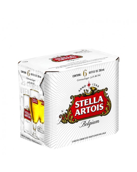 STELLA ARTOIS SIX PACK 6x250ml