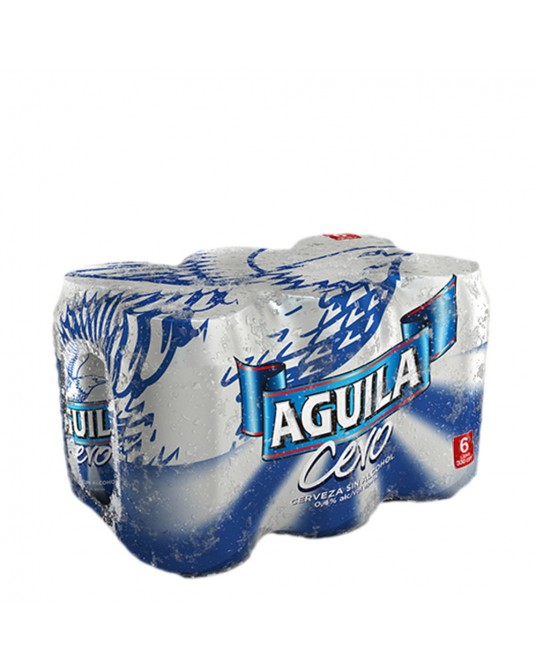 AGUILA CERO SIX PACK 6x330ml