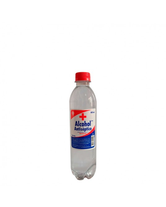 ALCOHOL ANTISÉPTICO 70% 400 ml