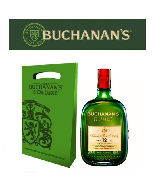 BUCHANAN'S D´LUXE 12 AÑOS BOTELLA 750 ml