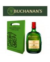 BUCHANAN'S D´LUXE 12 AÑOS BOTELLA 750 ml + BOLSA REGALO
