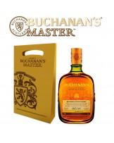 BUCHANAN'S MASTER BOTELLA 750 ml + BOLSA REGALO