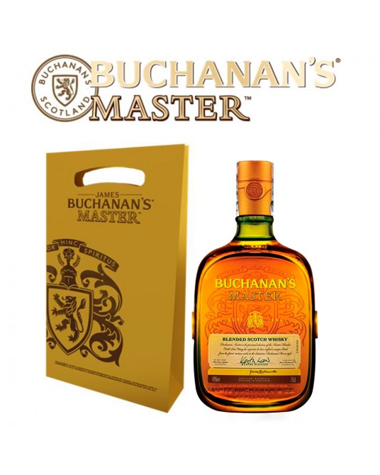 BUCHANAN'S MASTER BOTELLA 750 ml + BOLSA REGALO