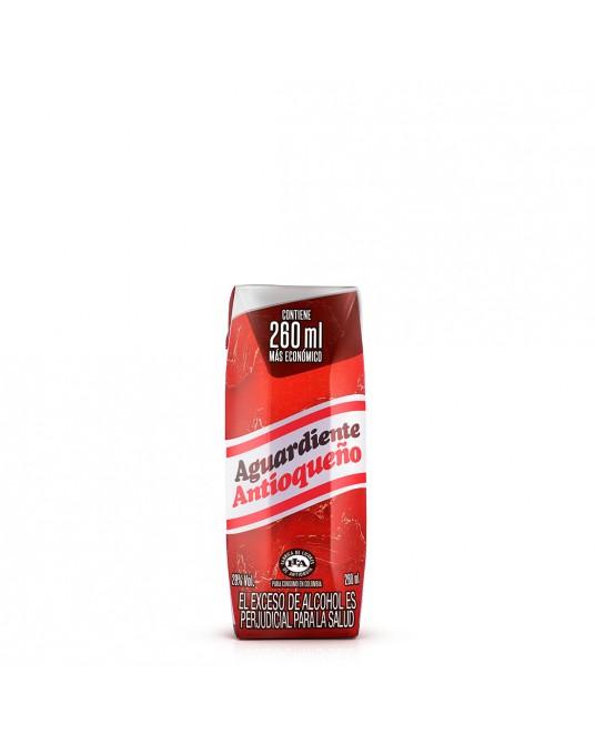 ANTIOQUEÑO ROJO CUARTO TPACK 260 ml