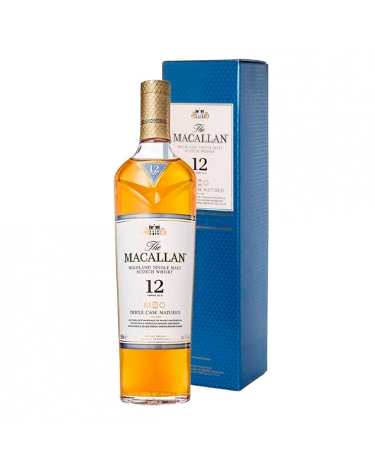 WHISKY MACALLAN TRIPLE CASK MATURED 12 BOTELLA 700 ml