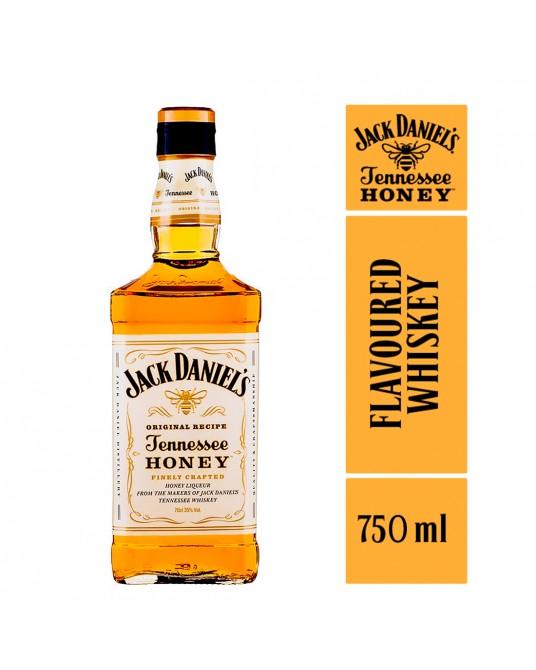 WHISKEY JACK DANIEL'S HONEY BOTELLA 750 ml