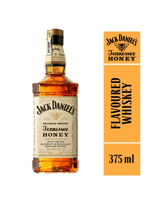 WHISKEY JACK DANIEL'S HONEY MEDIA 375 ml