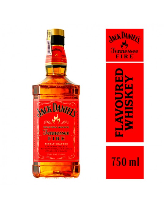 WHISKEY JACK DANIEL'S TENNESSEE FIRE BOTELLA 750 ml