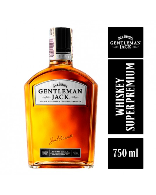 WHISKEY GENTLEMAN JACK BOTELLA 750 ml
