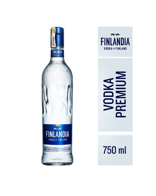 VODKA FINLANDIA BOTELLA 750 ml