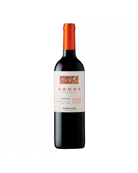 VINO ADOBE CARMENERE BOTELLA 750 ml