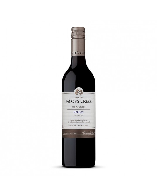 VINO JACOBS CREEK C MERLOT BOTELLA 750 ml