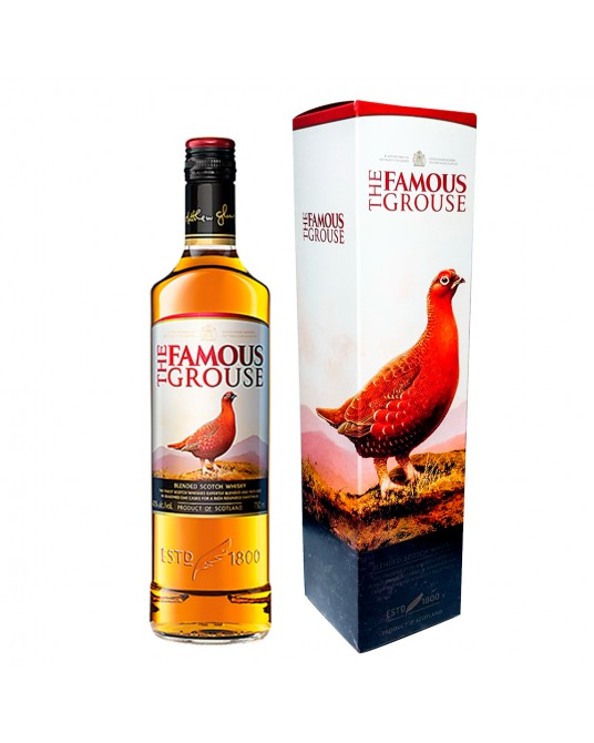 WHISKY THE FAMOUS GROUSE BOTELLA 700 ml