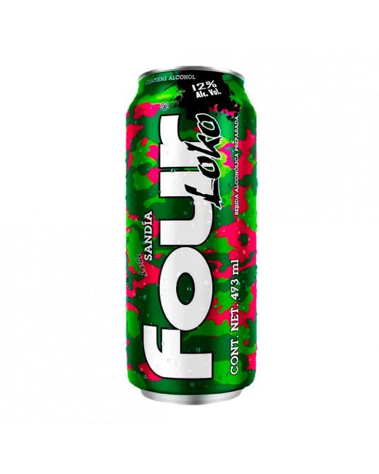 Bebida Alcohólica Preparada FOUR LOKO SANDIA Lata 473ml